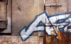 High-resolution desktop wallpaper Sarajevo Graffiti by Blake J. Nolan