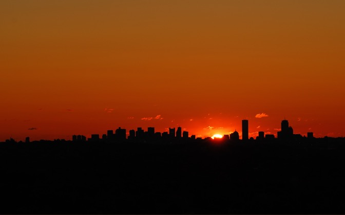 High-resolution desktop wallpaper Boston Sunrise by JoelGould