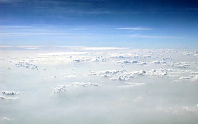 High-resolution desktop wallpaper Sky above China by Alezone