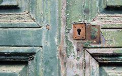 High-resolution desktop wallpaper Old Door, Brittany France by SkyHigh