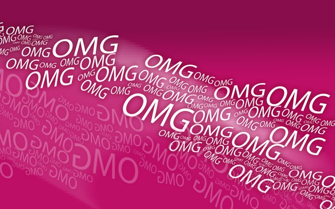 High-resolution desktop wallpaper The Stream of Ohs by Kareem Buckley
