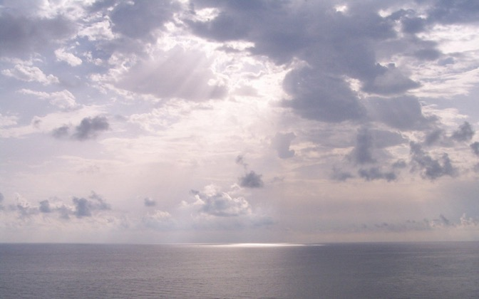 High-resolution desktop wallpaper Mediterranean Sea in the Morning by quiquecv