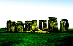 High-resolution desktop wallpaper Stone Henge by rencong
