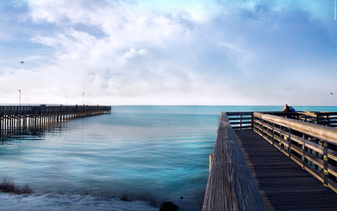 High-resolution desktop wallpaper The Dock & Parker's Pier by DerekProspero
