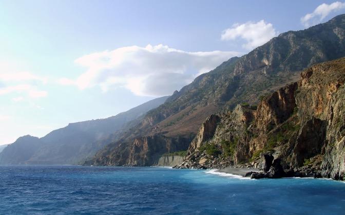 High-resolution desktop wallpaper Crete Cliffs by koolzoli