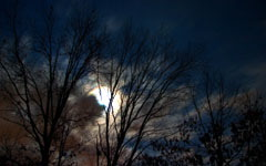 High-resolution desktop wallpaper January Night Sky by TheFozz