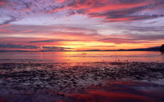 High-resolution desktop wallpaper Comox Sunrise by dloubert