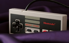 High-resolution desktop wallpaper NES Controller by emilerl