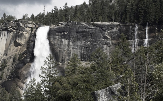 High-resolution desktop wallpaper Nevada Falls by AB