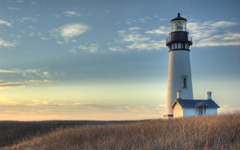 High-resolution desktop wallpaper Yaquina Head Lighthouse by Blair