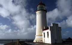 High-resolution desktop wallpaper North Head Lighthouse by Lyle Krannichfeld
