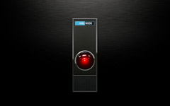 High-resolution desktop wallpaper Hal 9000 by Mauricio Fernandez Rosi&ntilde;ol