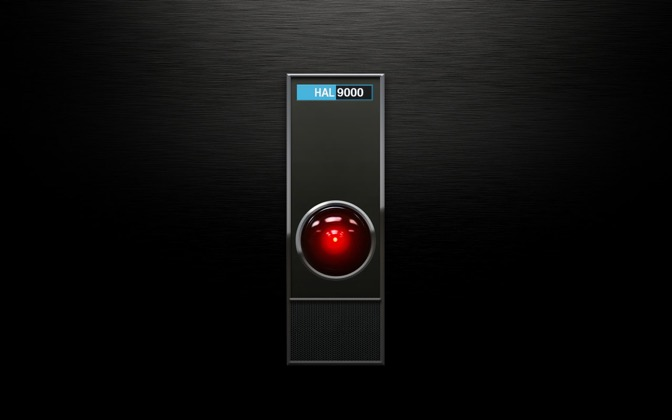 High-resolution desktop wallpaper Hal 9000 by Mauricio Fernandez Rosiñol