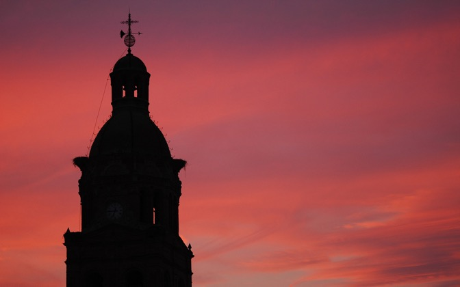 High-resolution desktop wallpaper Atardecer en Campanario by polojr