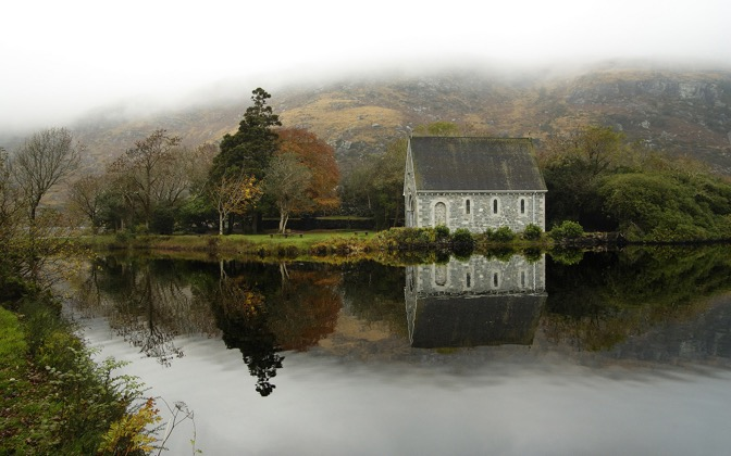 High-resolution desktop wallpaper Gougane Barra by SkyHigh