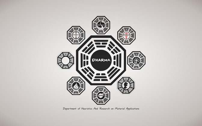 High-resolution desktop wallpaper DHARMA Initiative by jbus