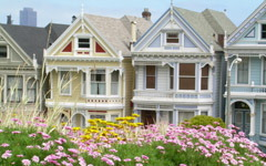 High-resolution desktop wallpaper Six Sisters in San Francisco by Recklesssaint