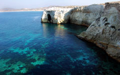 High-resolution desktop wallpaper Milos Island, Greece by s_gito_milos