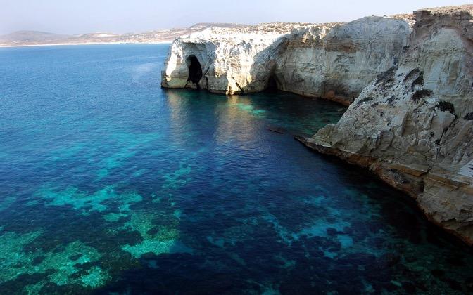 High-resolution desktop wallpaper Milos Island, Greece by s_gito_milos