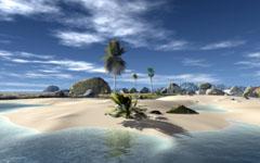 High-resolution desktop wallpaper Paradise Beach by boss019