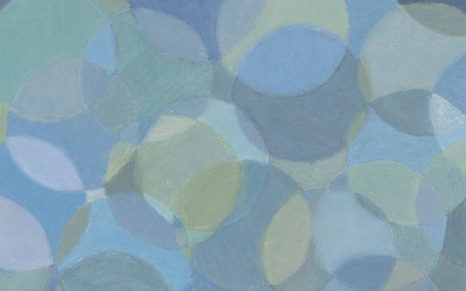 High-resolution desktop wallpaper Blue Circles by dorianh49