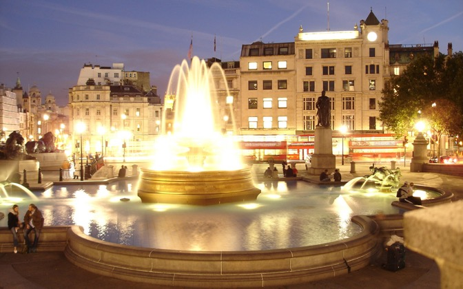 High-resolution desktop wallpaper Trafalgar Square by sigqumfemfe