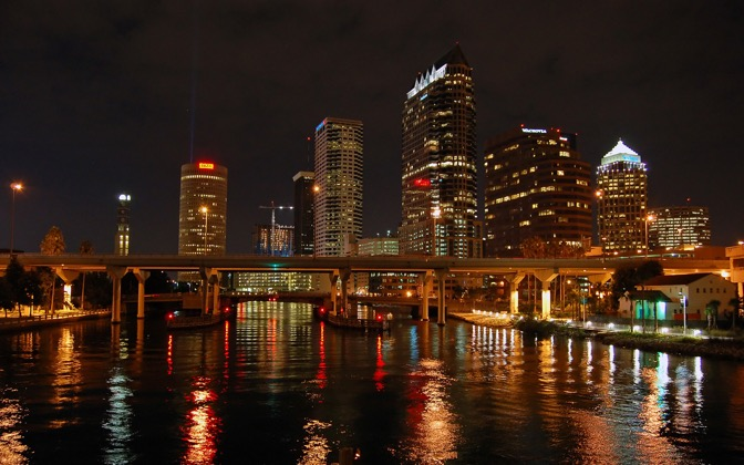 High-resolution desktop wallpaper Tampa Bay Water and Skyline by FusionZ06
