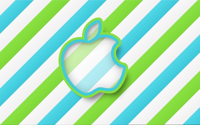 High-resolution desktop wallpaper Apple OS X Candy by Siebe