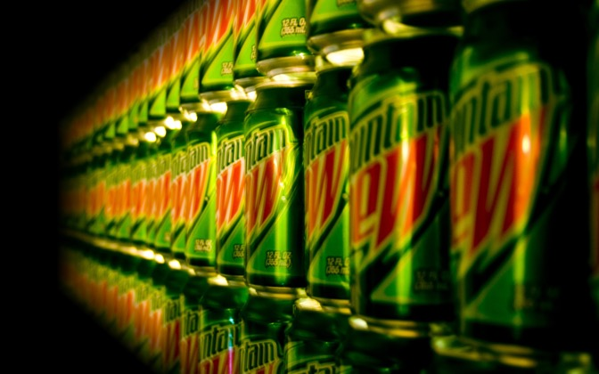 High-resolution desktop wallpaper Mountain Dew Anyone? by z4ckpete