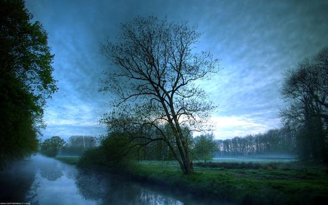 High-resolution desktop wallpaper Silence by shiftedreality