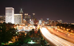 High-resolution desktop wallpaper Atlanta Lights by eugene_il