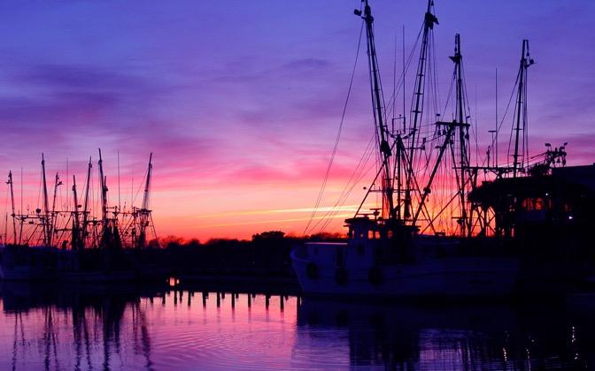 High-resolution desktop wallpaper On the Docks in Charleston by AbsolutMusic
