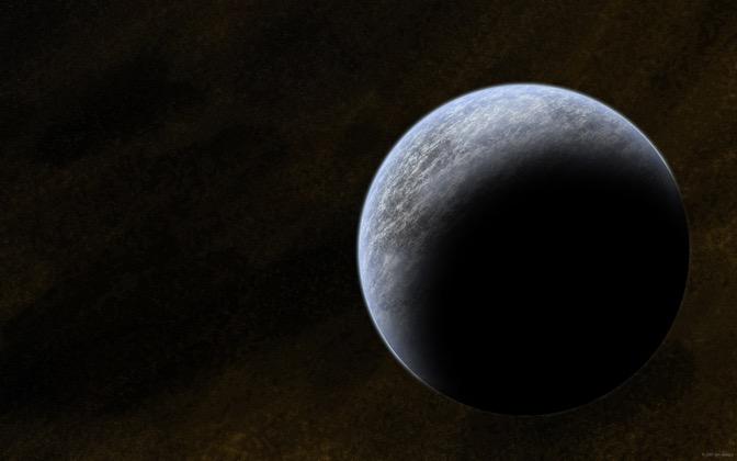 High-resolution desktop wallpaper Ice Planet by I0NMAN