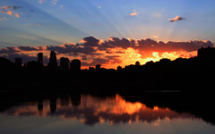 High-resolution desktop wallpaper Minneapolis Sunset by Geoff Myers