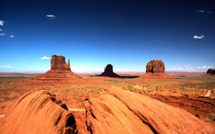 High-resolution desktop wallpaper Monument Valley by Stross Arts