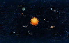 High-resolution desktop wallpaper Solar System by Vlad