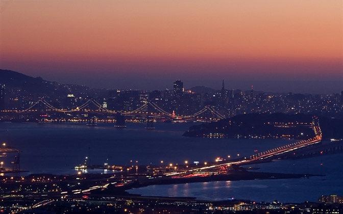 High-resolution desktop wallpaper Sunset over San Francisco by TJP__