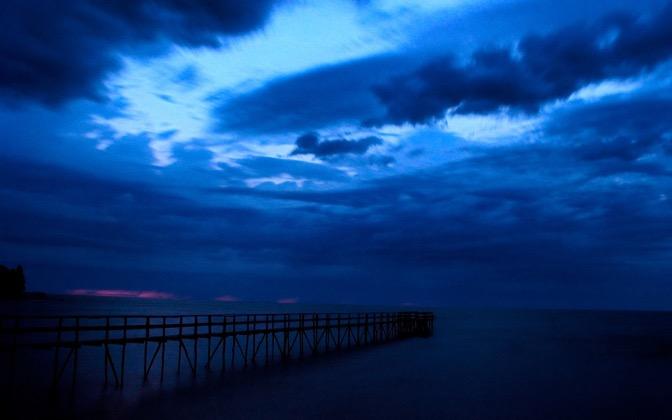 High-resolution desktop wallpaper Sunrise after the Storm by jj420