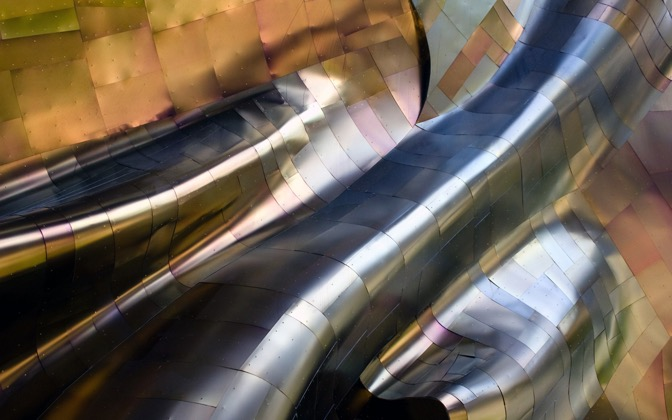 High-resolution desktop wallpaper Metal Flow by JesseLHawkins