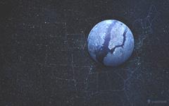 High-resolution desktop wallpaper Planet - New York by vladstudio