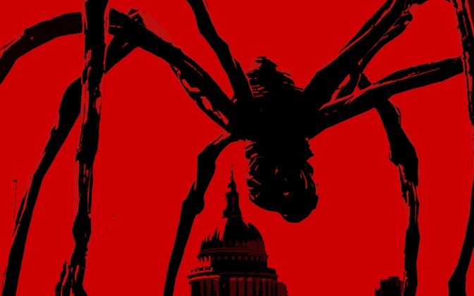 High-resolution desktop wallpaper 28 Spiders Later by youbrokemytaco