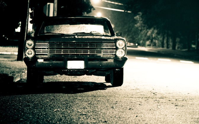 High-resolution desktop wallpaper 1967 Ford Galaxie by Brett Schnacky