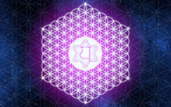 High-resolution desktop wallpaper Flower of Life by elevated.tv