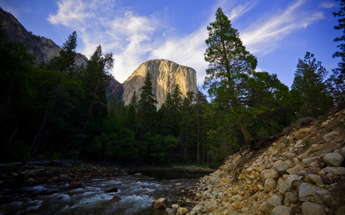 High-resolution desktop wallpaper El Capitan by matt mosher