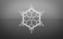 High-resolution desktop wallpaper Digital Snowflake by I0NMAN