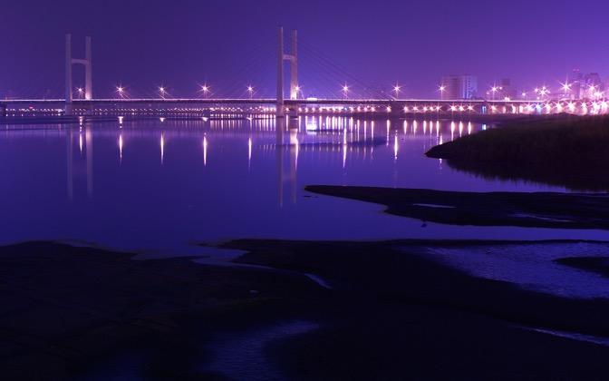 High-resolution desktop wallpaper ChongYang Bridge, Taiwan by BraveRoy