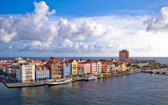 High-resolution desktop wallpaper Curacao from Above by mikedmt