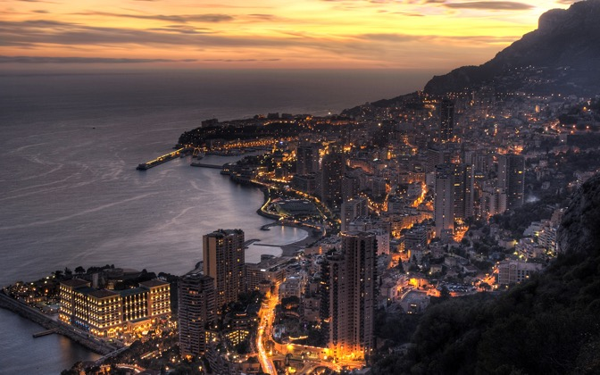 High-resolution desktop wallpaper Monaco by Fabien Equant