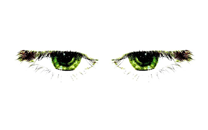 High-resolution desktop wallpaper Green Eyes by ssenkrad