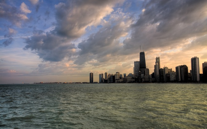 High-resolution desktop wallpaper Chicago Skyline by benisntfunny